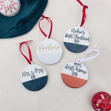 Load image into Gallery viewer, Christmas - Personalised Ceramic Bauble