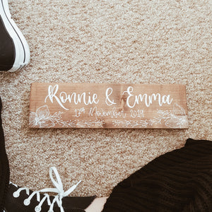 """Create your own"" Custom sign - Small"
