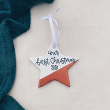 Load image into Gallery viewer, Christmas - Personalised Ceramic Star