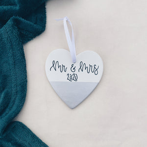 Christmas - Personalised Ceramic Heart