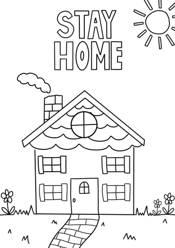 FREE Colouring Sheet -