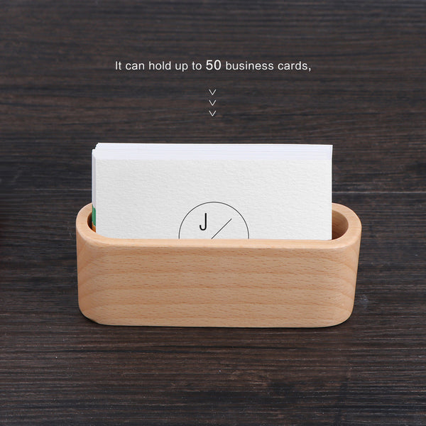 Wood business card holder single compartment name card display wood business card holder single compartment name card display reheart Gallery