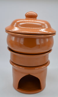 Traditional Clay Pot Stove
