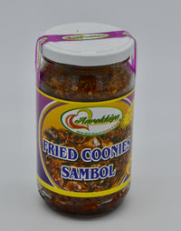 Fried Coonies Sambol