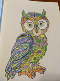Adult Coloring Book: 120 Images Stress Relieving Designs- Super Variety