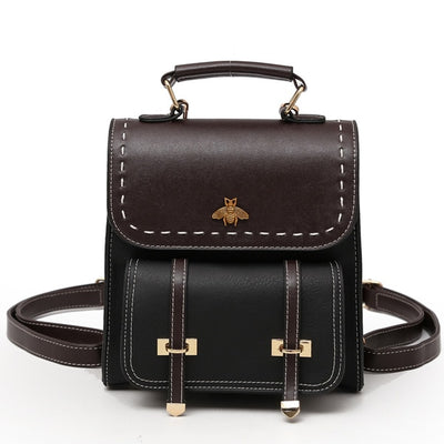 Limited Edition Vintage Leather Women's Backpack