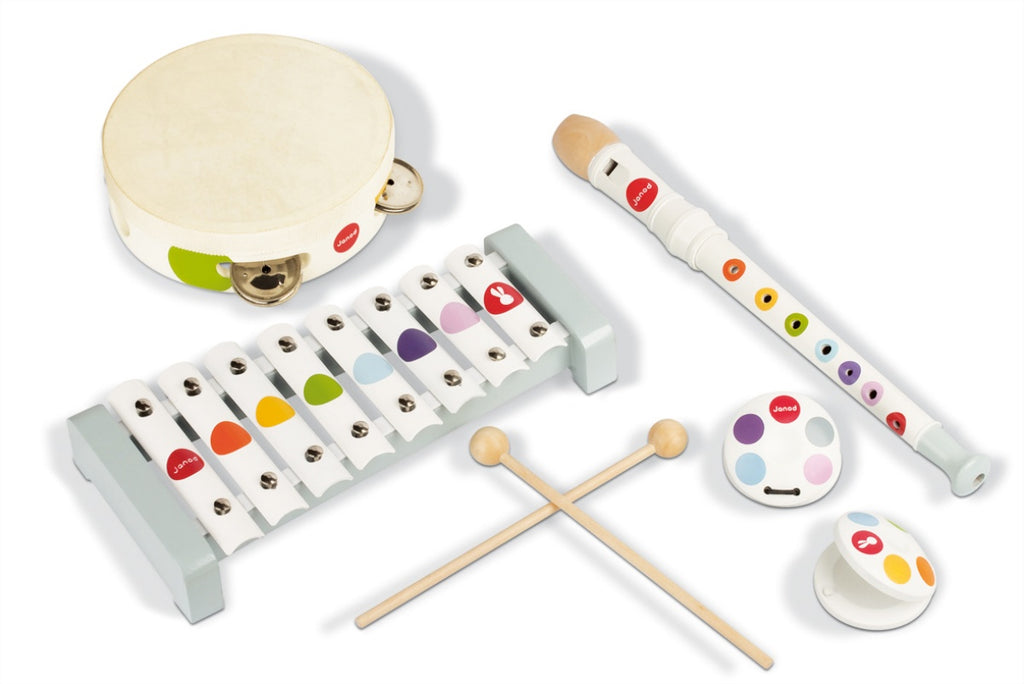 Janod Confetti Musical Instruments for Kids
