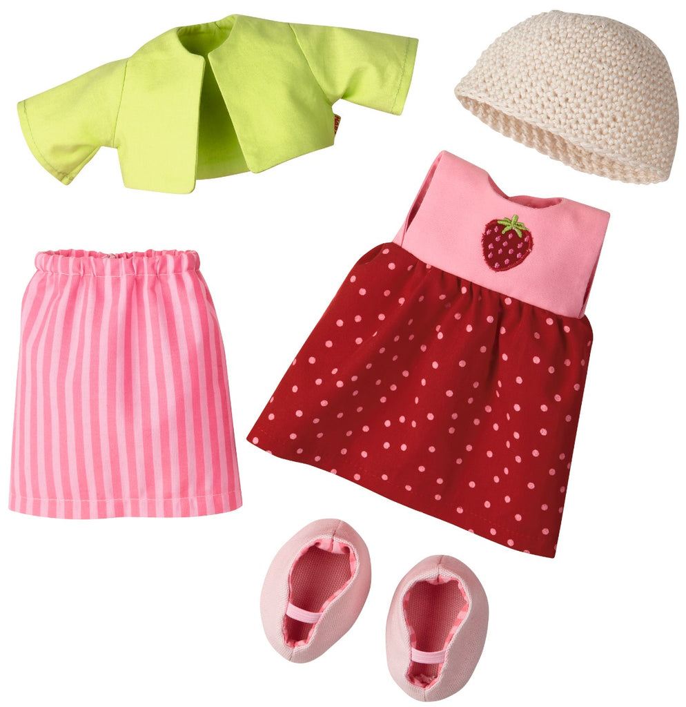HABA Doll Dress Set Strawberry