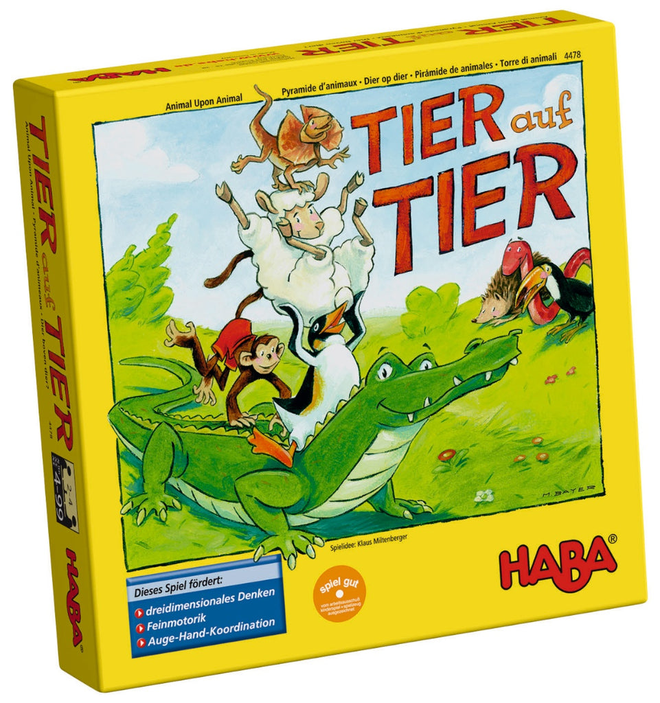 HABA Stacking Game 'Animal upon Animal'