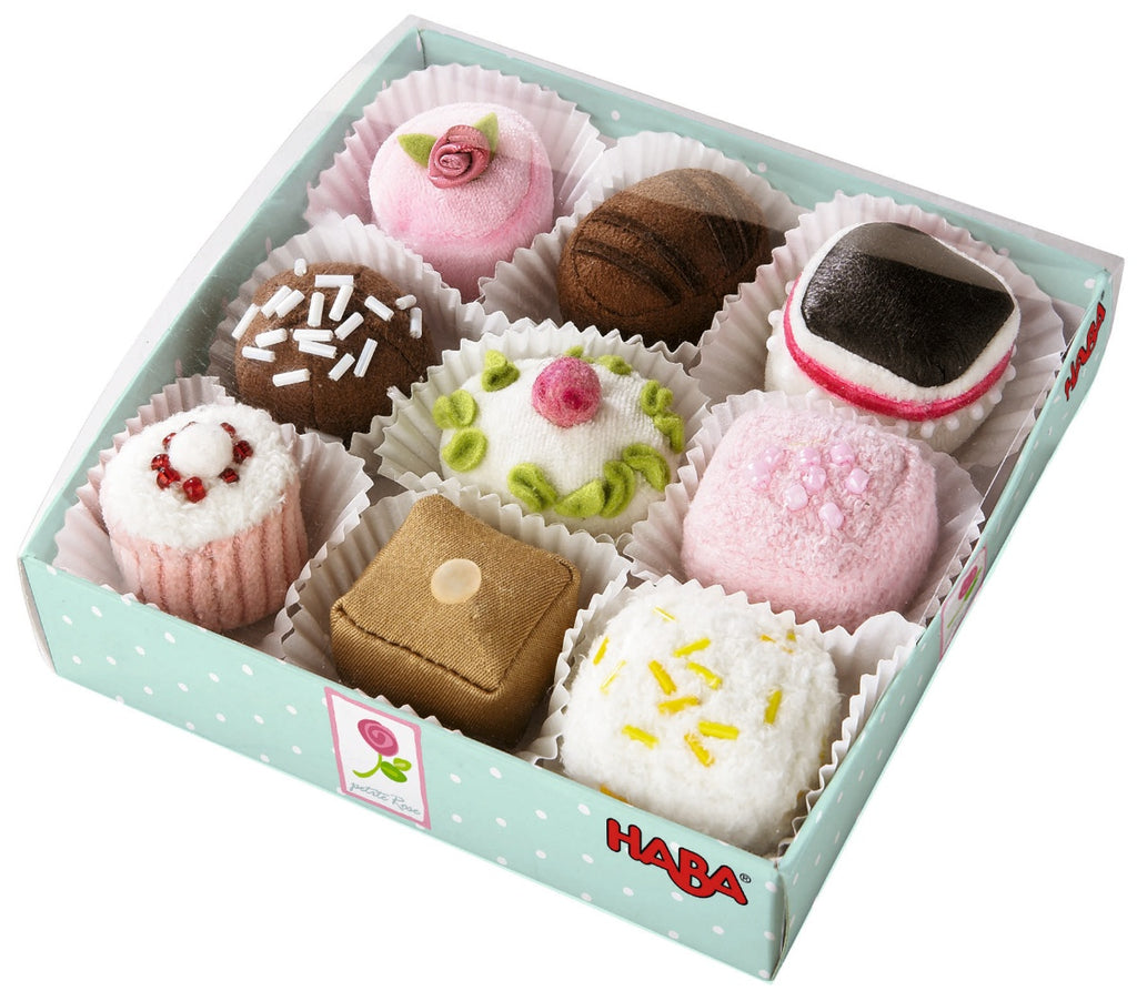 HABA Play Food Petit Fours (set of 9)