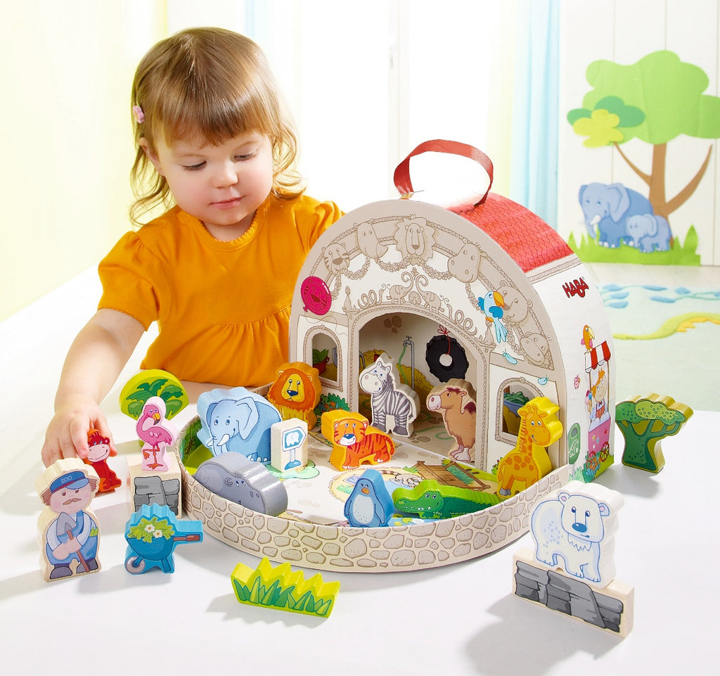 HABA Large Zoo Play Set