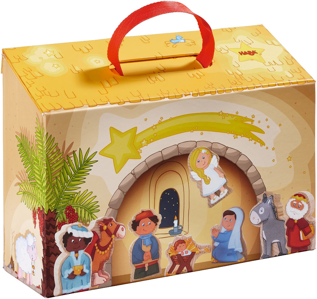HABA First Nativity Playset