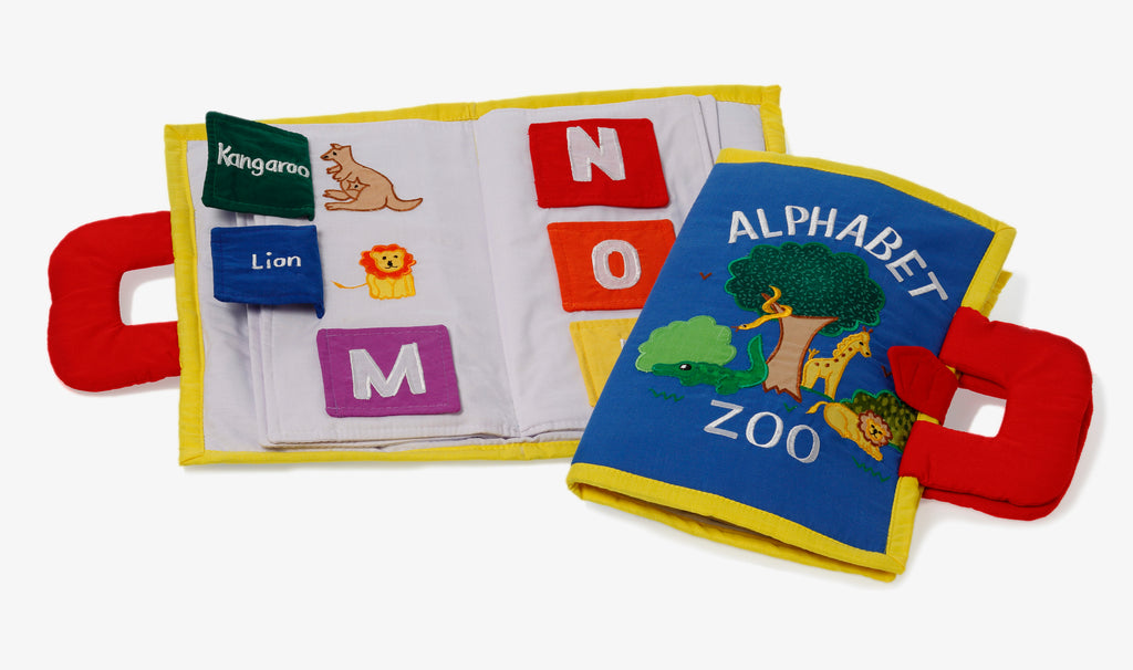 Oskar&Ellen Alphabet Book Zoo