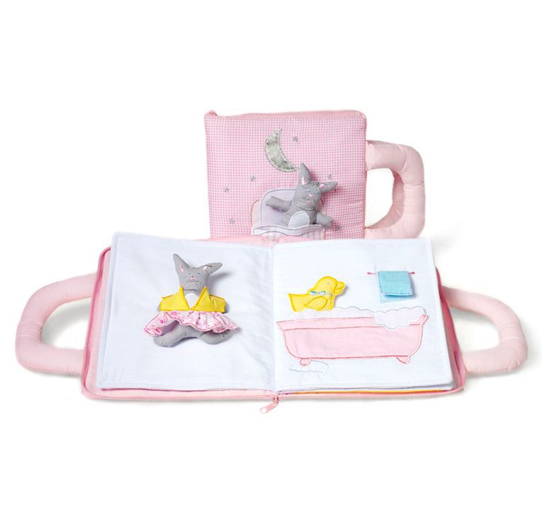 Oskar&Ellen Goodnight Book - pink