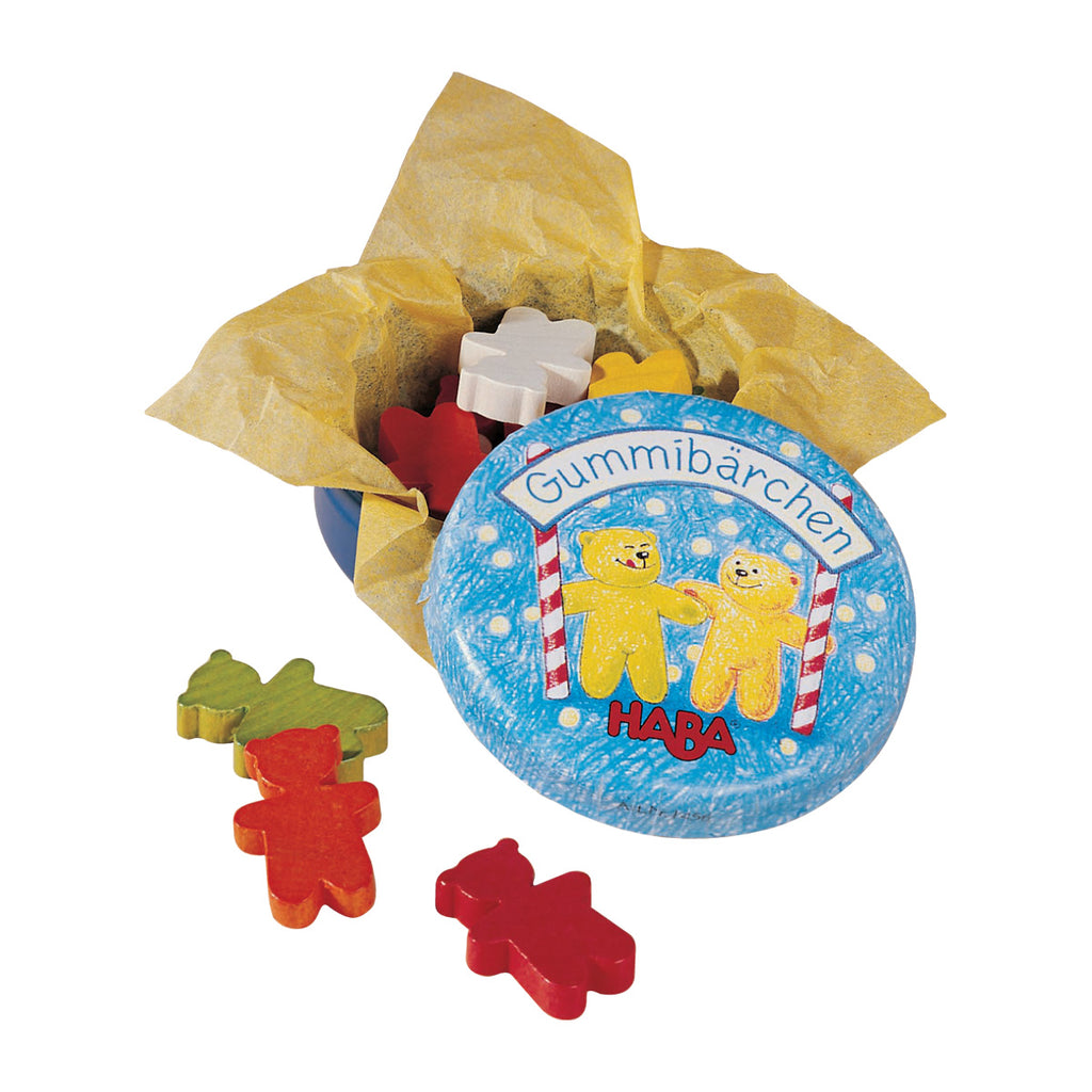 HABA Play Food Gummi Bears in a Tin