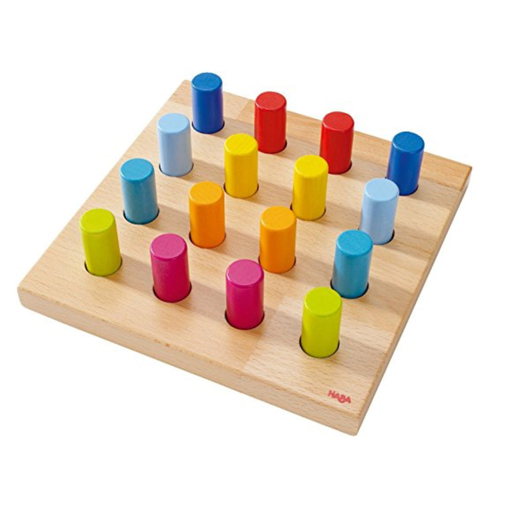 HABA Pegging Game Rainbow Whirls