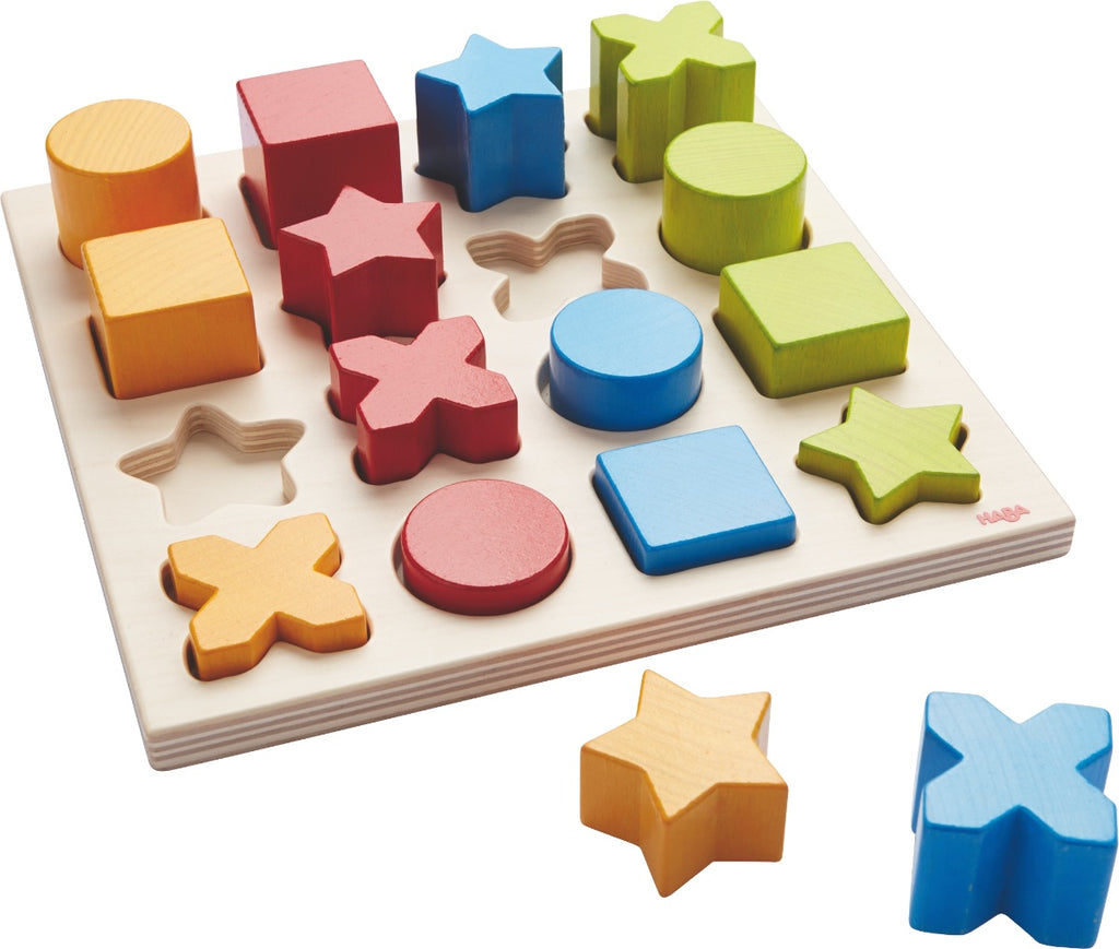 HABA Wooden Sorting Game 'Shape Mix'