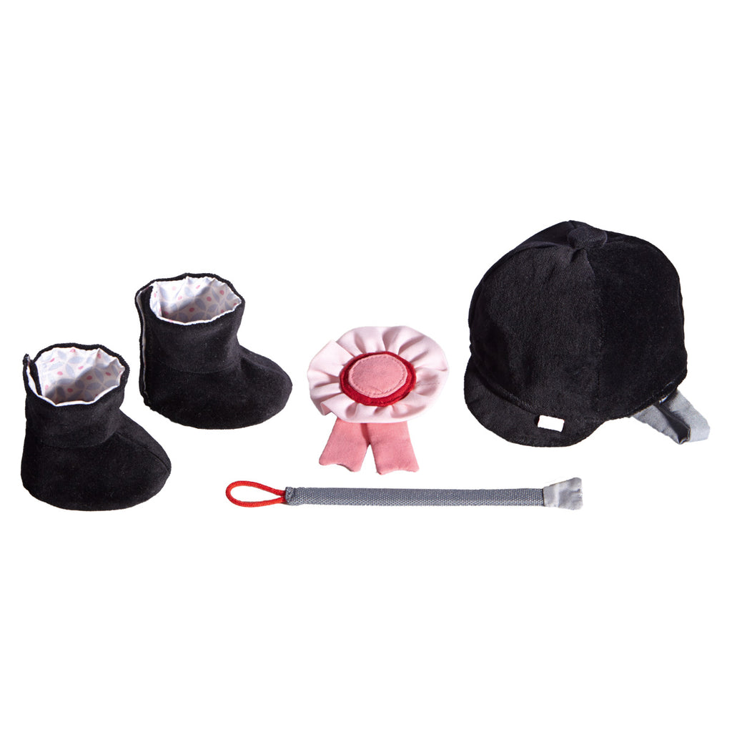 HABA Doll Clothes Set Riding equipment