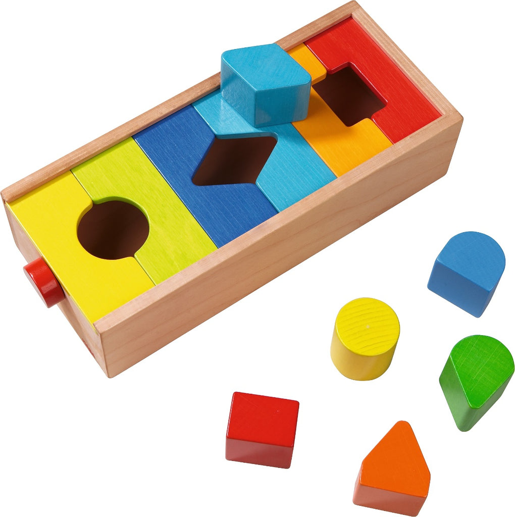 HABA Wooden Sorting Box Plug & Explore