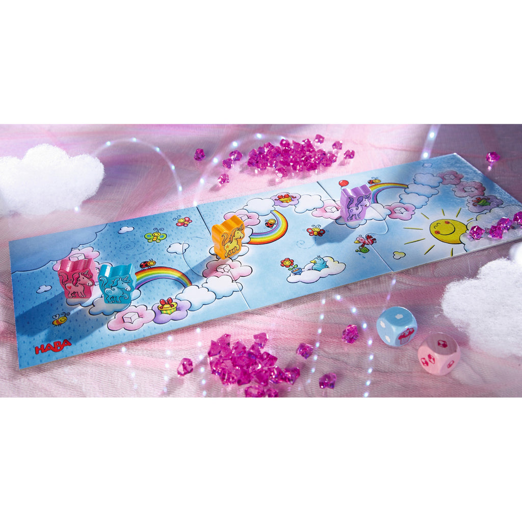 HABA Game Unicorn Glitterluck - Cloud Crystals