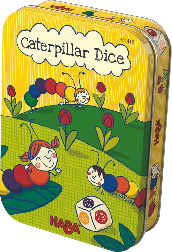 HABA Game in a Tin 'Caterpillar Dice'