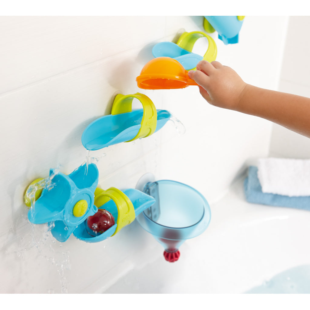 HABA Bath Toy - Water Funnel Ball Track