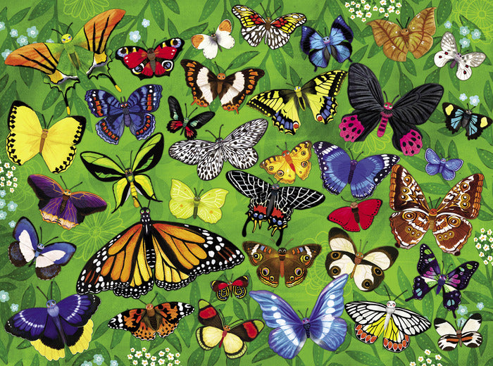 Crocodile Creek 36 Animals Puzzle - Butterflies (300 pieces)