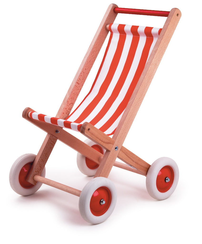 Egmont Stripy Dolls Buggy