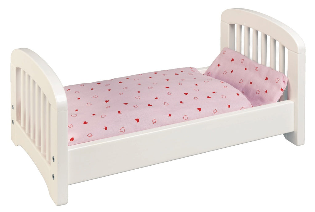 Goki Wooden Doll's Bed white