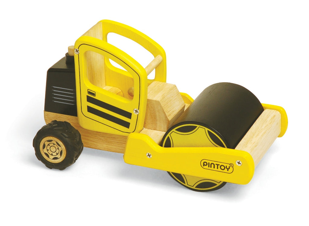 PinToy Wooden Road Roller
