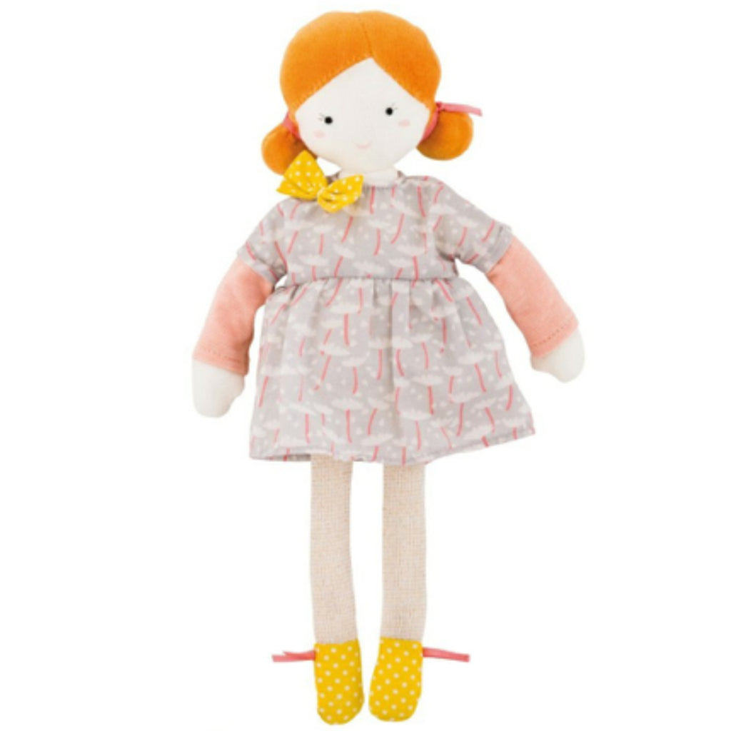 Moulin Roty Les Parisiennes Soft Doll Blanche