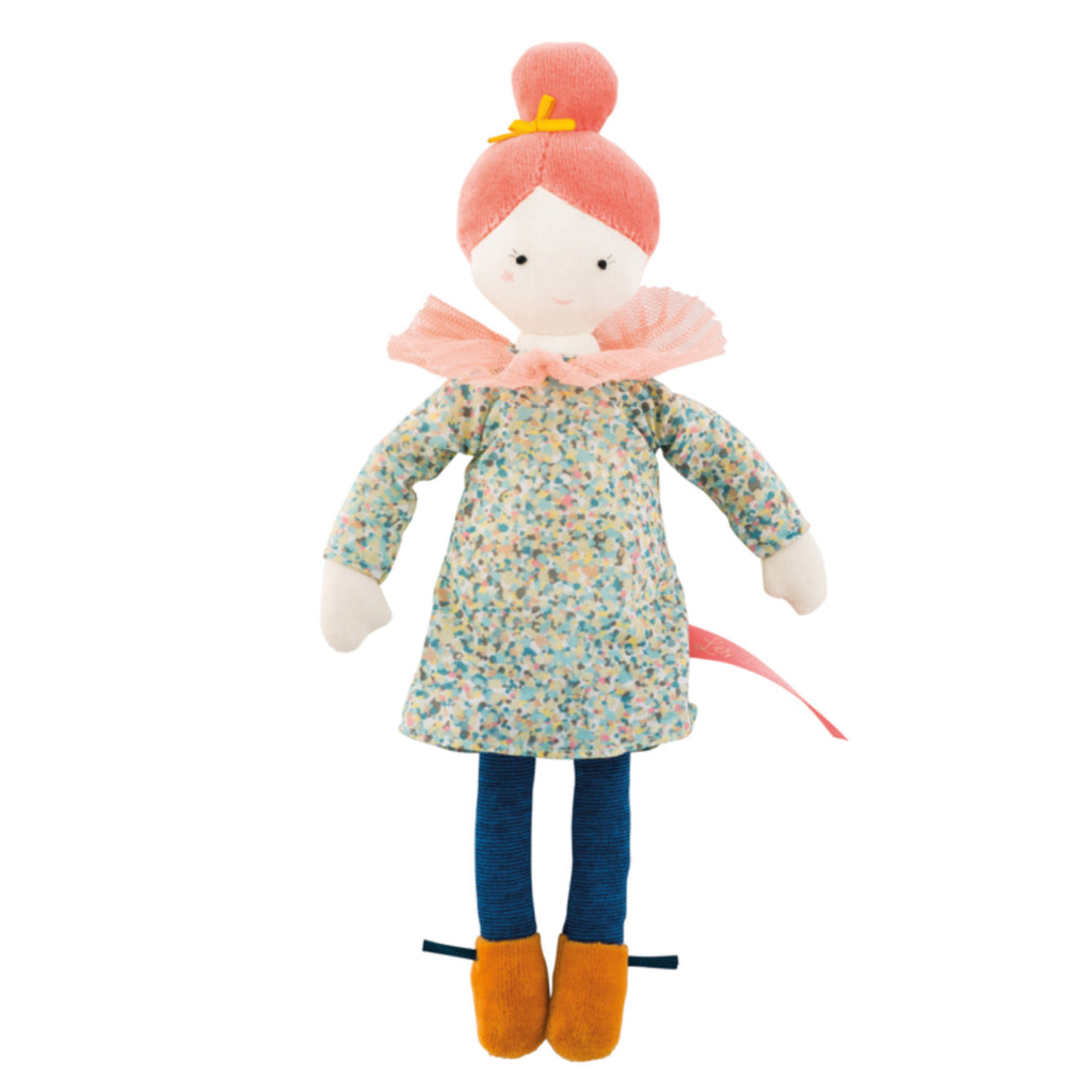 Moulin Roty Les Parisiennes Soft Doll Agathe
