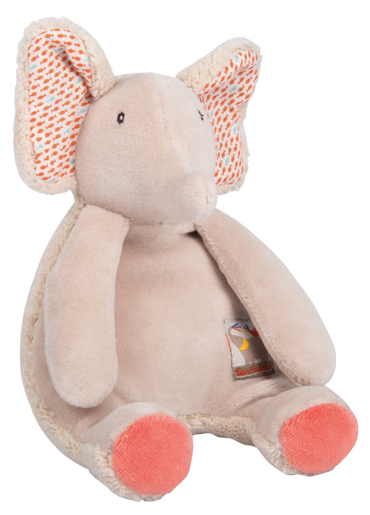 Moulin Roty Les Papoum Elephant Rattle