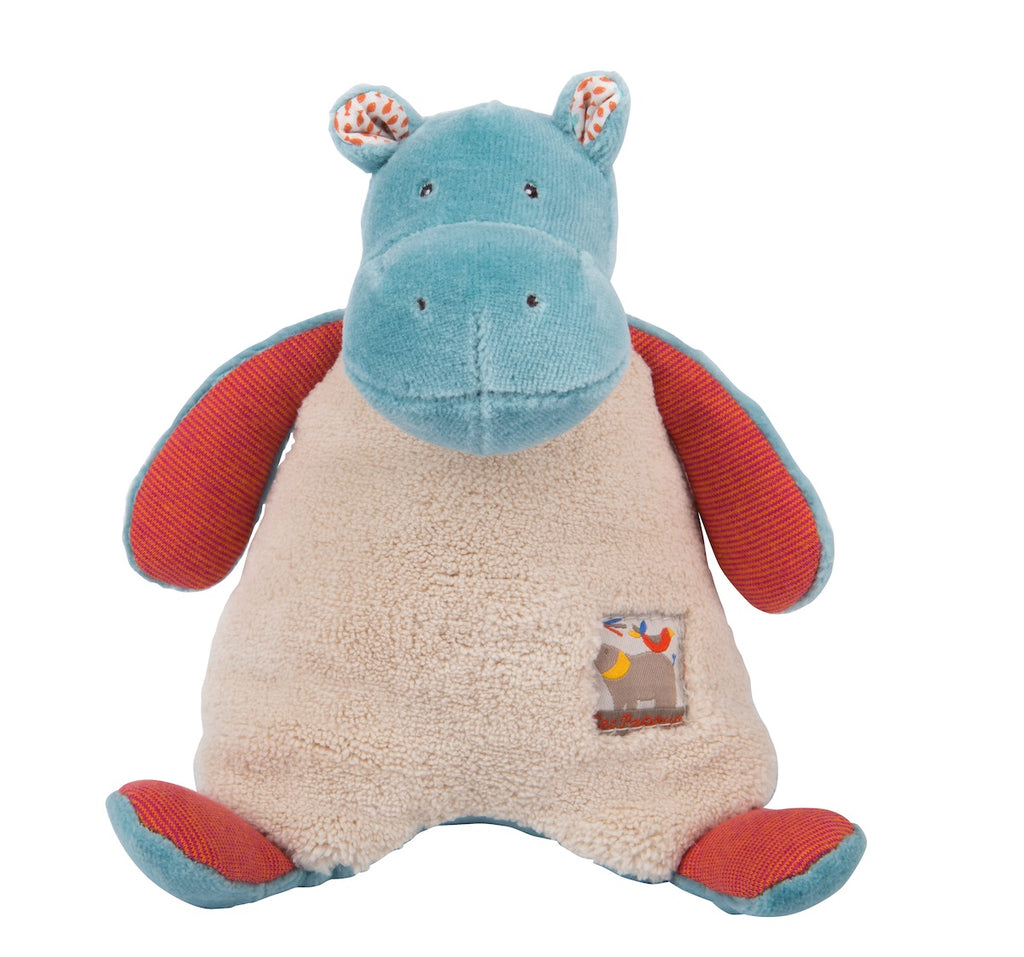 Moulin Roty Les Papoum Hippo Rattle