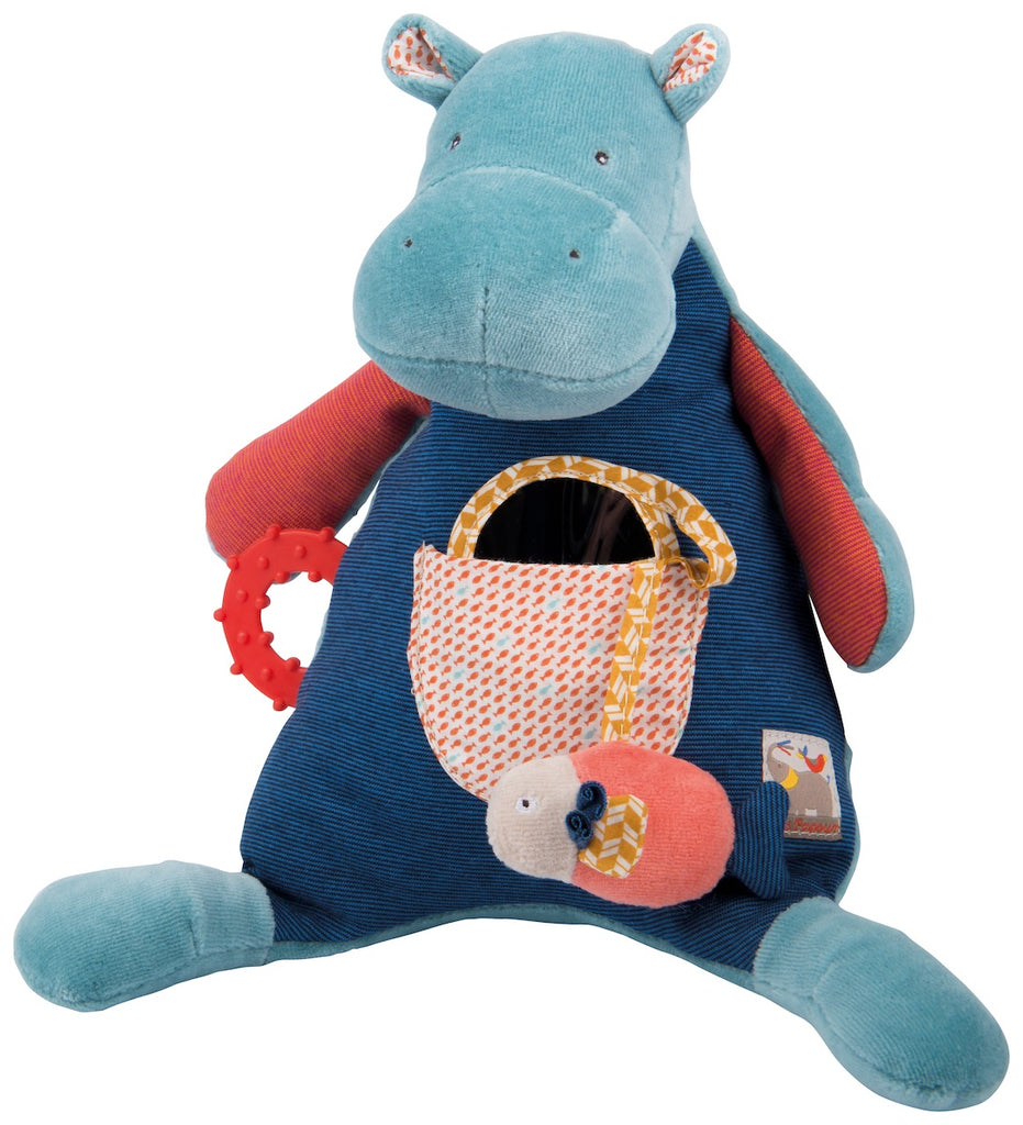 Moulin Roty Les Papoum Hippo Activity Toy