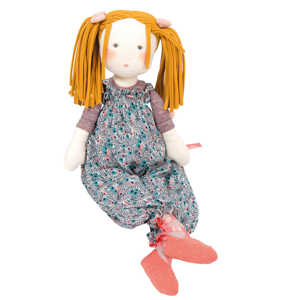 Moulin Roty Les Rosalies Rag Doll Violette