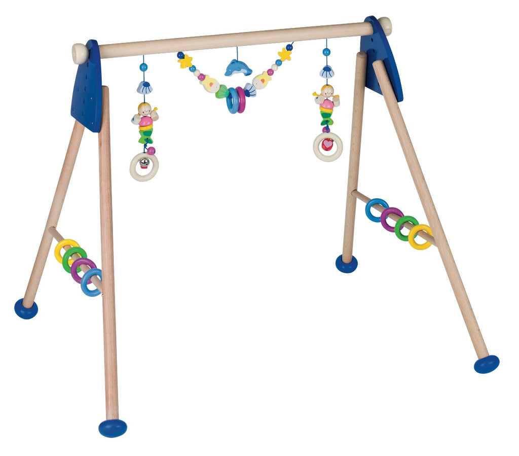 Heimess Wooden Baby Gym Mermaid