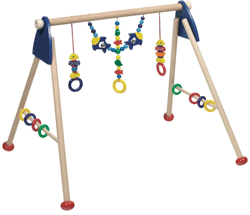 Heimess Wooden Baby Activity Gym Fish