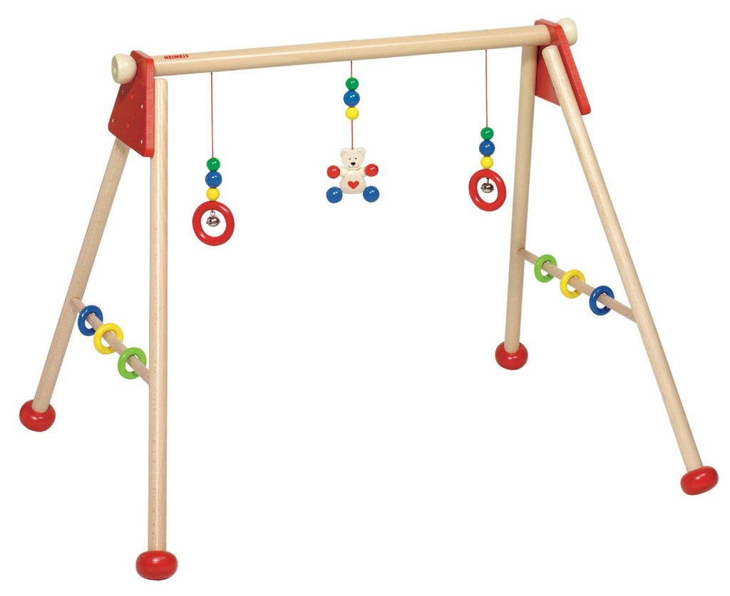 Heimess Wooden Baby Activity Gym Bear