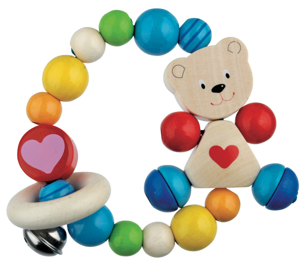 Heimess Wooden Rattle Bear