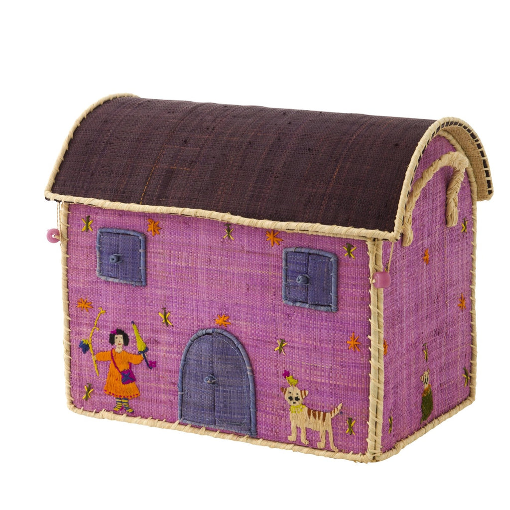 Rice DK House Toy Basket Cats - small