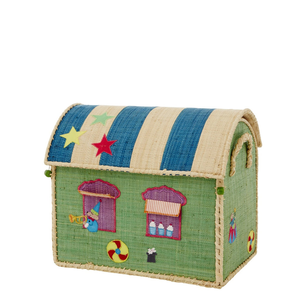 Rice DK House Toy Basket Circus - small