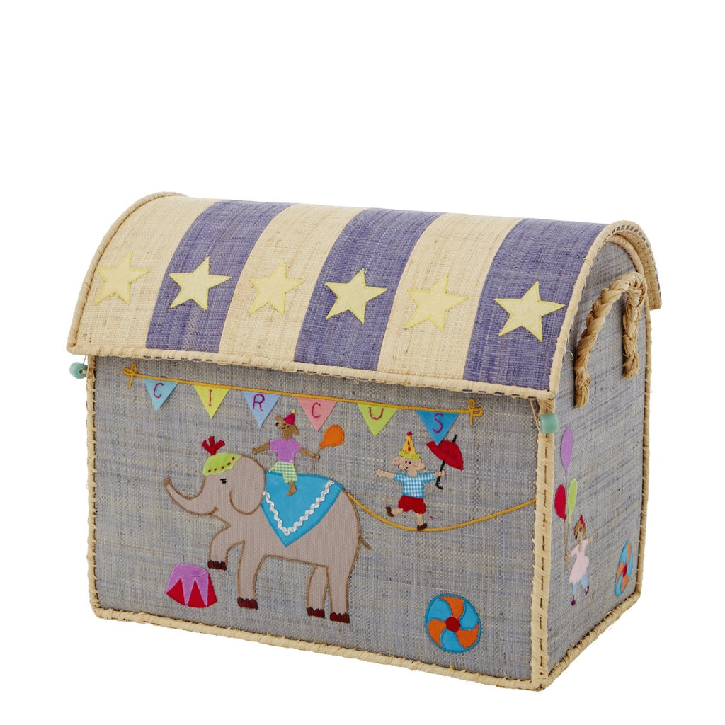 Rice DK House Toy Basket Circus - medium