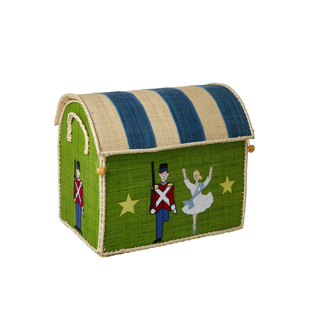 Rice DK Toy Baskets with The Steadfast Tin Soldier Theme - Set of 3