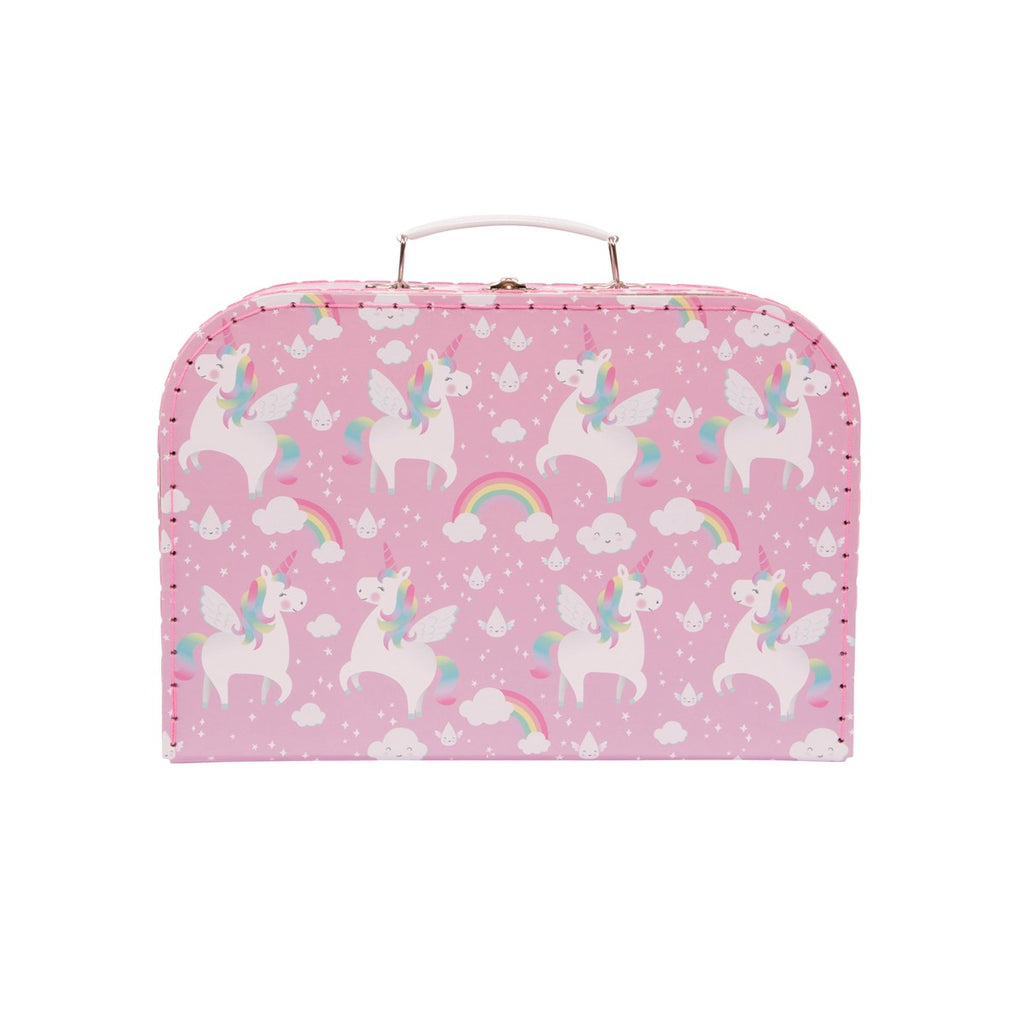 Sass & Belle Rainbow Unicorn Suitcases - Set of 3