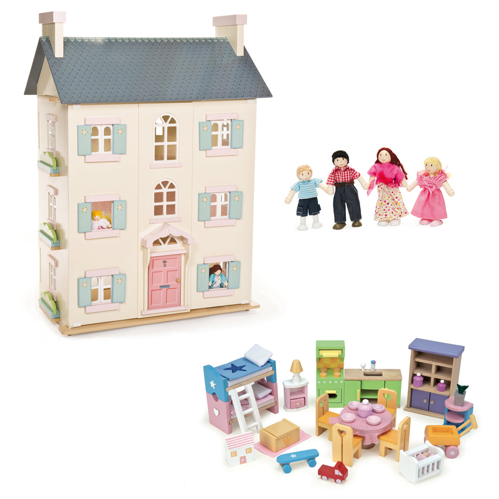 Le Toy Van Cherry Tree Hall Bundle