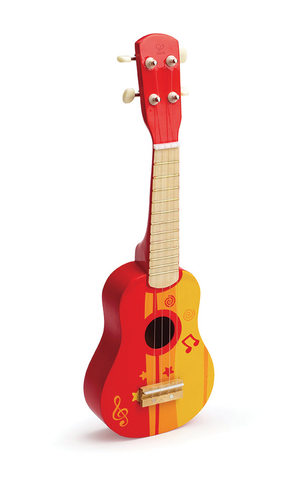 Hape Toy Guitar - Red