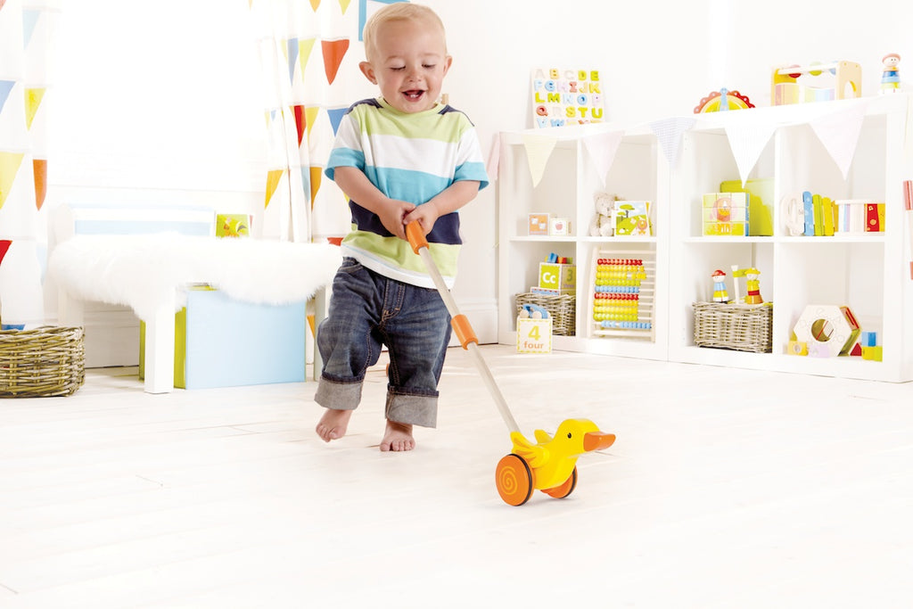 Hape Duck Push Along Toy