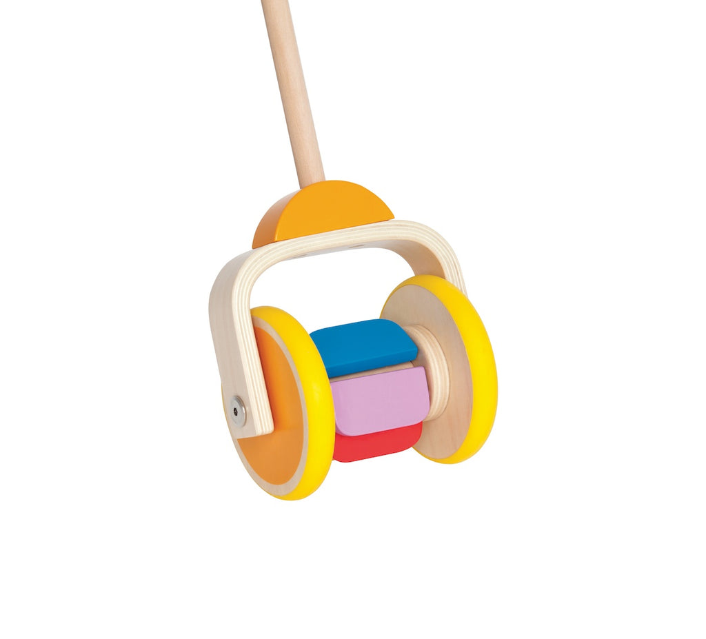 Hape Rainbow Push Along Toy