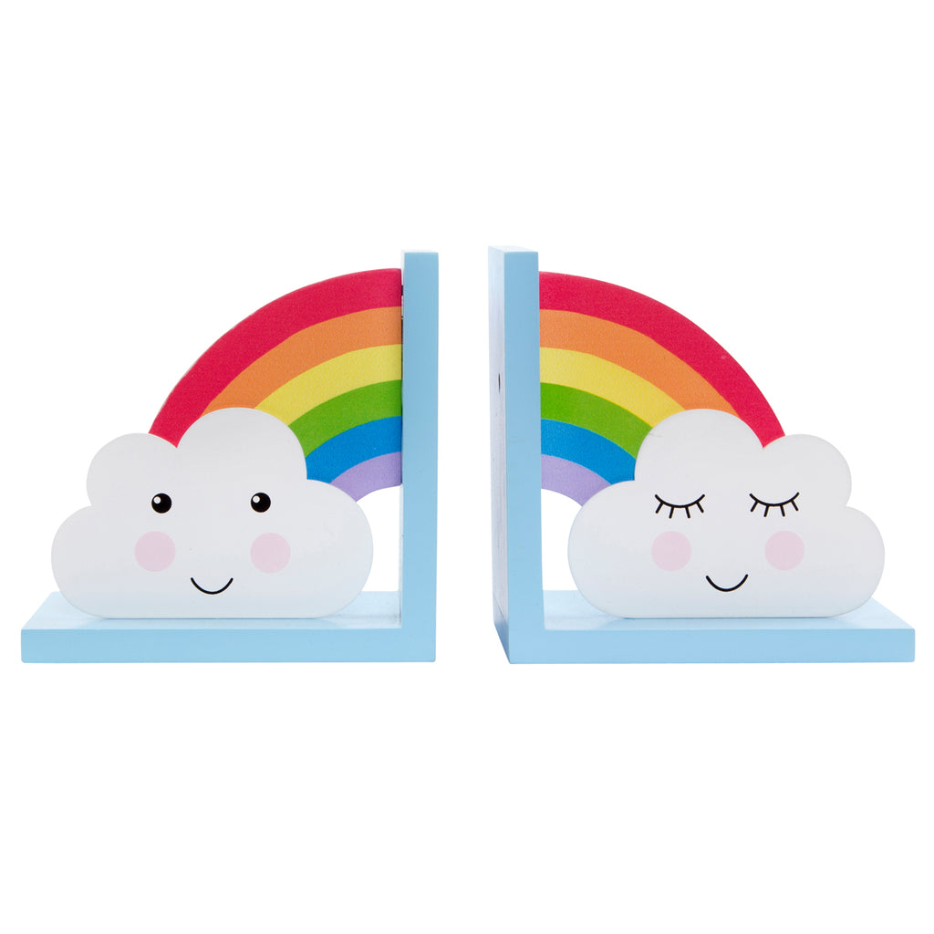Sass and Belle Rainbow Bookends